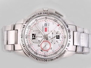Gorgeous Chopard Gran Turismo GT XL Chronograph Automatic with White Dial AAA Watches [T2R7]