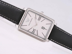 Gorgeous Emporio Armani with White Dial AAA Watches [F9T1]