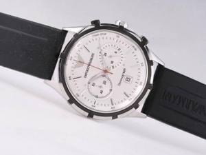 Great Emporio Armani Working Chronograph with White Dial AAA Watches [L3J3]