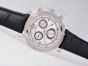 Modern Emporio Armani Chronograph Automatic with White Dial AAA Watches [S3L9]