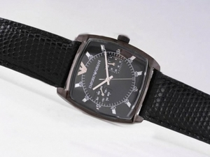 Popular Emporio Armani Chronograph PVD Case with Black Dial AAA Watches [K9R3]