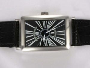 Cool Franck Muller Long Island Automatic with Black Dial AAA Watches [L9K1]