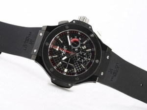 Great Hublot Big Bang King Chronograph Asia Valjoux 7750 PVD Case-49mm AAA Watches [F6D3]