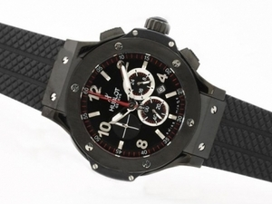 Great Hublot Big Bang Working Chronograph PVD Case-Same Structure as 7750 Movement AAA Watches [F4N2]