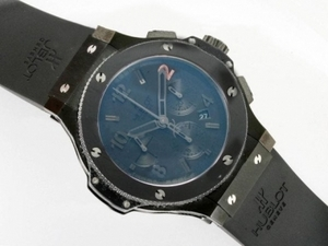 Modern Hublot Big Bang Chronograph Asia Valjoux 7750 Movement-Ceramic AAA Watches [S4G4]