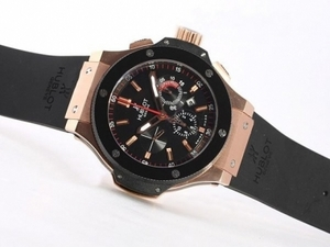 Modern Hublot Big Bang King Chronograph Asia Valjoux 7750 Rose Gold AAA Watches [M7H4]