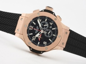Modern Hublot Big Bang Tuiga 1909 Working Chronograph Rose Gold Case AAA Watches [N1S9]