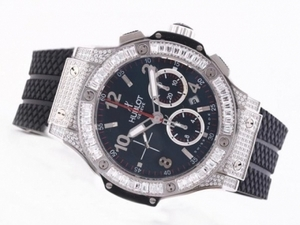 Perfect Hublot Big Bang Chronograph Asia Valjoux 7750 Movement AAA Watches [L9B1]