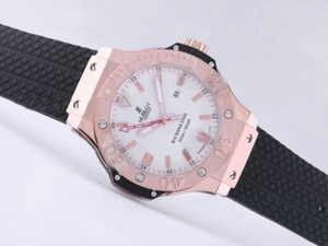 Perfect Hublot Big Bang King Automatic Rose Gold Case with White Dial AAA Watches [K9W2]