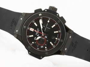 Perfect Hublot Big Bang King Chronograph Asia Valjoux 7750 Movement PVD AAA Watches [S3X4]
