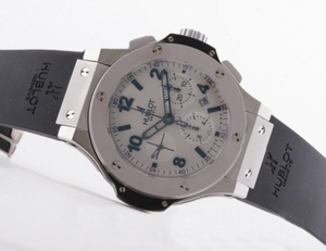 Perfect Hublot Big Bang Mat Platinum Plat Grey With Asia Valjoux 7750 Movement AAA Watches [N5D3]