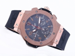 Quintessential Hublot Big Bang Chronograph Asia Valjoux 7750 Movement Rose Gold AAA Watches [H9T3]