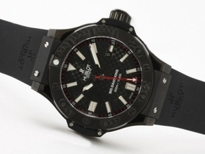 Quintessential Hublot Big Bang King Black Magic Asia Valjoux 7750 Movement PVD AAA Watches [T7O3]