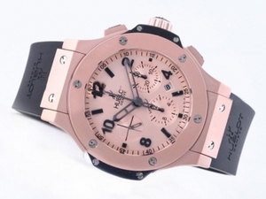 Vintage Hublot Big Bang Mat Rose Gold Chronograph With Asia Valjoux 7750 Movement AAA Watches [U5S5]