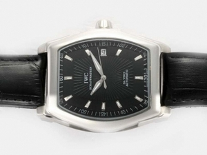 Cool IWC Da Vinci Automatic with Black Dial AAA Watches [V9U2]
