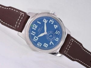 Fancy IWC Saint Exupery Automatic with Blue Dial-AR Coating AAA Watches [Q5E8]