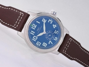 Fancy IWC Saint Exupery Automatic with Blue Dial-AR Coating AAA Watches [F2A4]