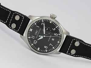Gorgeous IWC Big Pilot Automatic with Black Dial AAA Watches [S7R1]