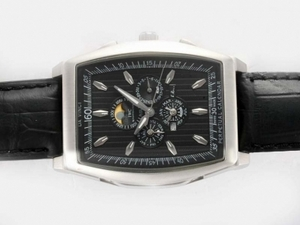 Gorgeous IWC Da Vinci Perpetual Calendar Automatic with Black Dial AAA Watches [P9I5]