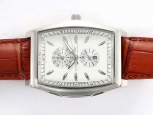 Popular IWC Da Vinci Working Chronograph with White Dial AAA Watches [D7J4]