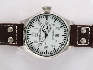 Vintage IWC Big Pilot Automatic with White Dial AAA Watches [T9I2]