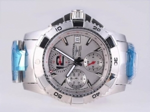 Cool Longines Hydroconquest V Chronograph Automatic with White Dial AAA Watches [V2T9]