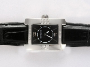 Fancy Montblanc Profile Lady Elegance with Black Dial Lady Size AAA Watches [G5W8]