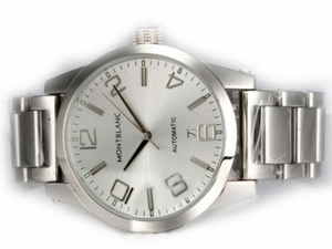Fancy Montblanc Time Walker Automatic with Silver Dial AAA Watches [N5M9]