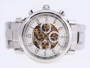 Popular Montblanc Skeleton Chronograph Automatic AAA Watches [C8W2]