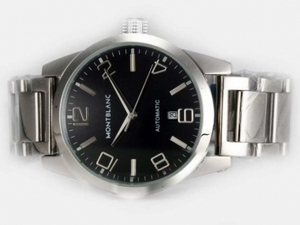 Popular Montblanc Time Walker Automatic with Black Dial AAA Watches [V1L8]