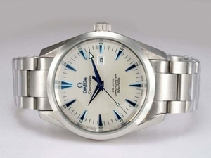 Cool Omega Seamaster Aqua Terra Big Size Automatic Blue Marking AAA Watches [J2I5]