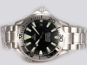 Cool Omega Seamaster Automatic with Black Dial AAA Watches [T7S6]