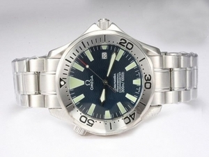 Fancy Omega Seamaster Automatic with Dark Blue Dial AAA Watches [J6P1]