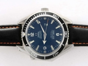 Fancy Omega Seamaster Planet Ocean Automatic with Blue Dial-AR Coating AAA Watches [C8B9]