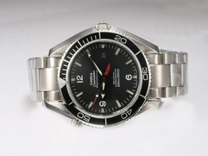 Fancy Omega Seamaster Royale Casino 007 with Black Dial and Bezel AAA Watches [T8X1]