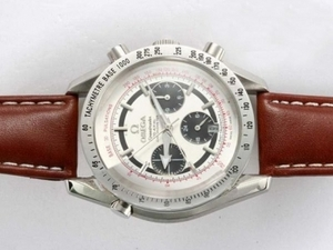 Fancy Omega Speedmaster Chronograph Automatic with White Dial AAA Watches [G9M3]