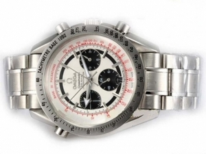 Fancy Omega Speedmaster Chronograph Automatic with White Dial AAA Watches [X3G3]
