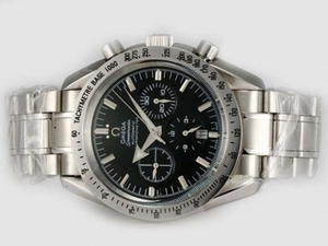 Gorgeous Omega Speedmaster Broad Arrow Chronograph Automatic with Black Dial AAA Watches [B1G5]