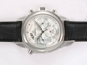 Great Omega De Ville RATTRAPANTE Automatic with White Dial AAA Watches [J4X8]