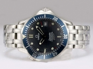 Great Omega Seamaster 007 James Bond Automatic -Blue AAA Watches [Q6B7]
