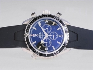 Great Omega Seamaster Planet Ocean Working Chronograph with White Marking AAA Watches [R7D8]