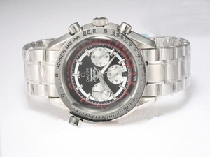 Great Omega Speedmaster Chronograph Automatic with Black Dial AAA Watches [R8J8]