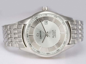 Modern Omega Hour Vision See Thru Case Automatic with Silver Dial AAA Watches [J9G9]