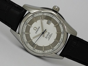 Suositut Omega Hour Vision See Thru Case Automatic Valkoinen Soi
