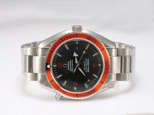 Popular Omega Seamaster Planet Ocean Automatic With Orange Bezel AAA Watches [L8C9]