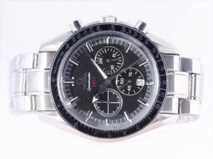 Popular Omega Speedmaster 1957 Working Chronograph with Black Dial-Olympic Version AAA Watches [A3U8]