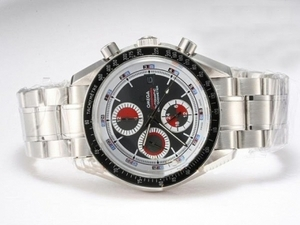 Popular Omega Speedmaster Automatic Chronometer with Black Dial AAA Watches [E1C5]