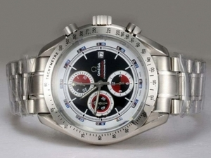 Popular Omega Speedmaster Broad Arrow Working Chronograph with Black Dial AAA Watches [N1J4]