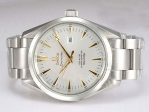 Quintessential Omega Seamaster Aqua Terra Automatic Gold Marking with White Diamond AAA Watches [O7A6]