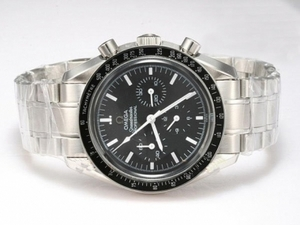 Quintessential Omega Speedmaster Professional Chronograph Automatic with Black Dial AAA Watches [I8N9]